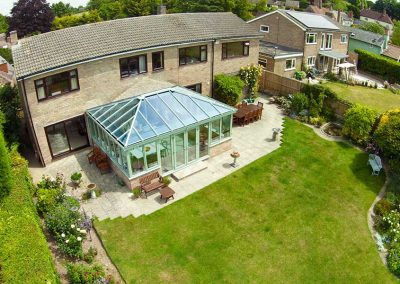 large-glass-roof-conservatory